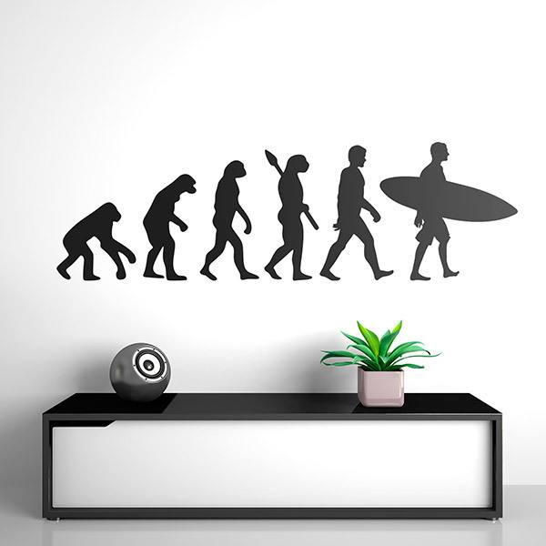 Wall Stickers: Surf evolution