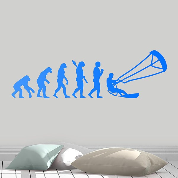 Wall Stickers: Kitesurf evolution