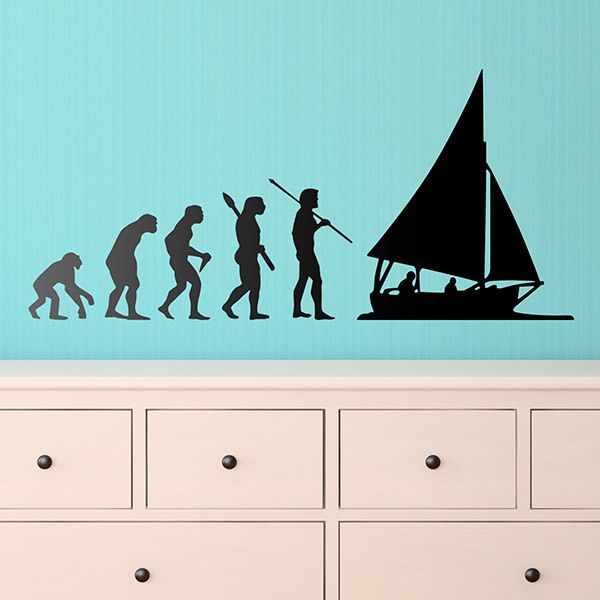 Wall Stickers: Sail evolution
