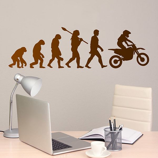 Wall Stickers: Motocross evolution