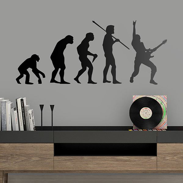 Wall Stickers: Rock Evolution