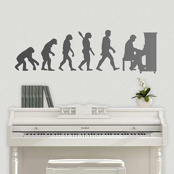 Wall Stickers: Pianist Evolution