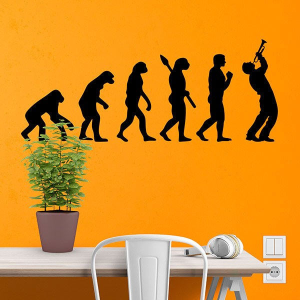 Wall Stickers: Trumpeter evolution