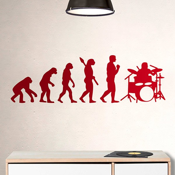 Wall Stickers:  Battery evolution