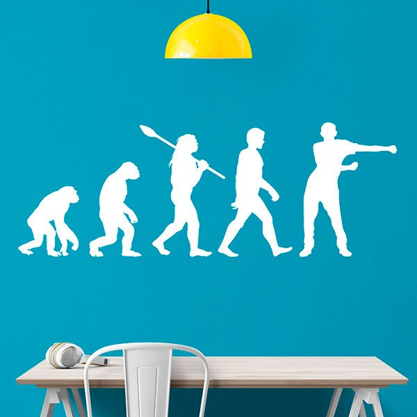Wall Stickers: Evolution Floss Like a Boss man