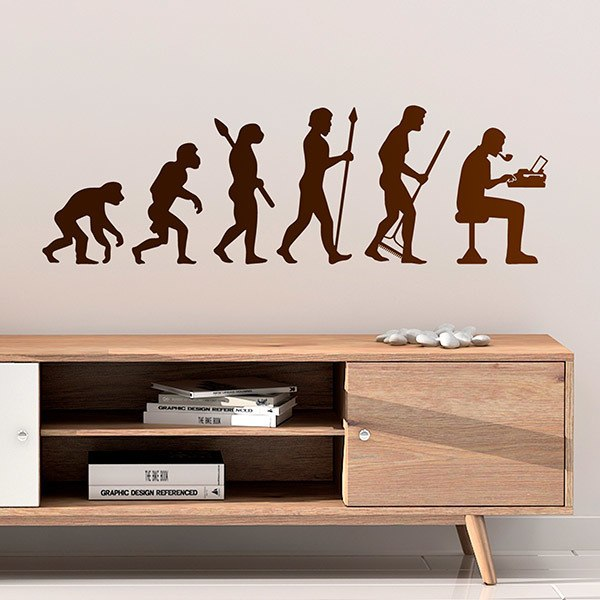Wall Stickers: Evolution Writer