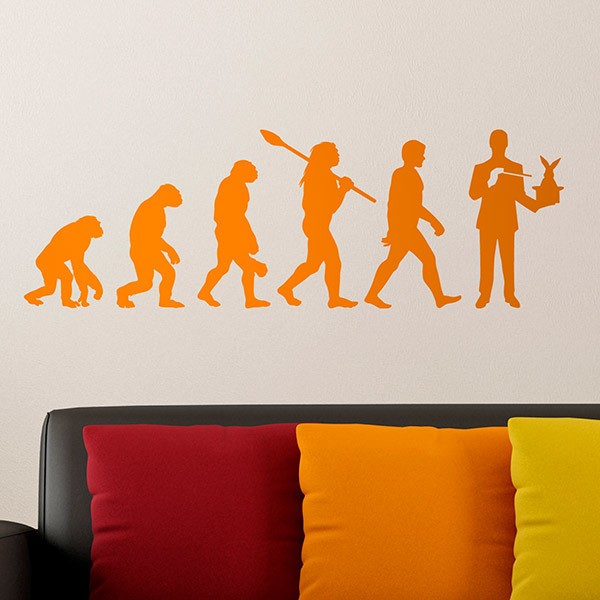 Wall Stickers: Evolution magician