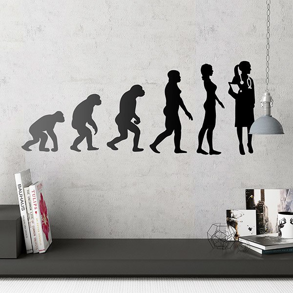 Wall Stickers: Doctor Evolution