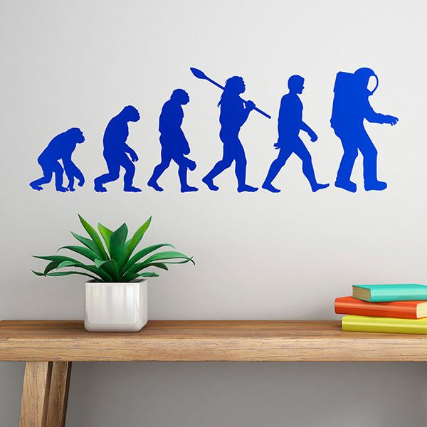 Wall Stickers: Astronaut evolution