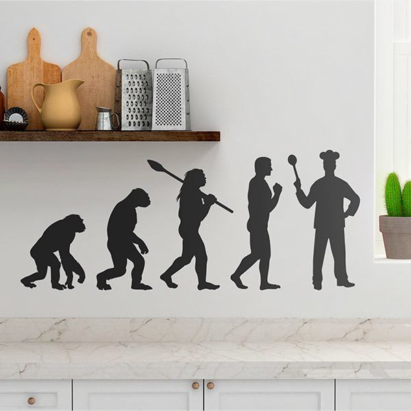 Wall Stickers: Chef evolution