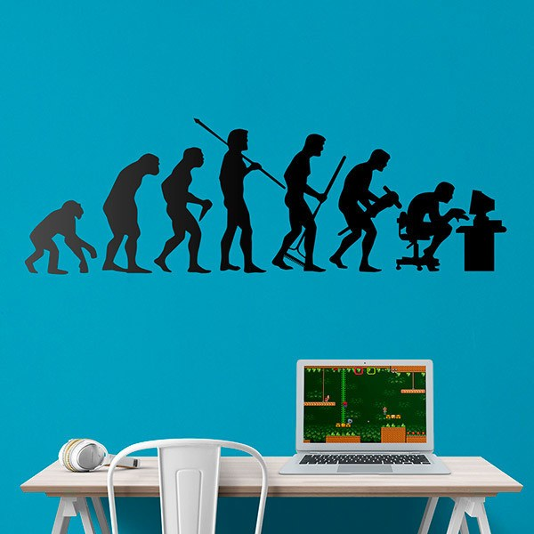 Wall Stickers: Programmer evolution