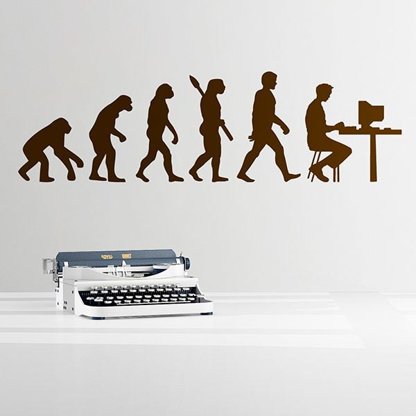 Wall Stickers: Computer Evolution