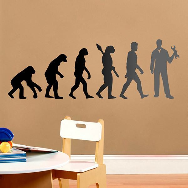 Wall Stickers: Mechanical evolution