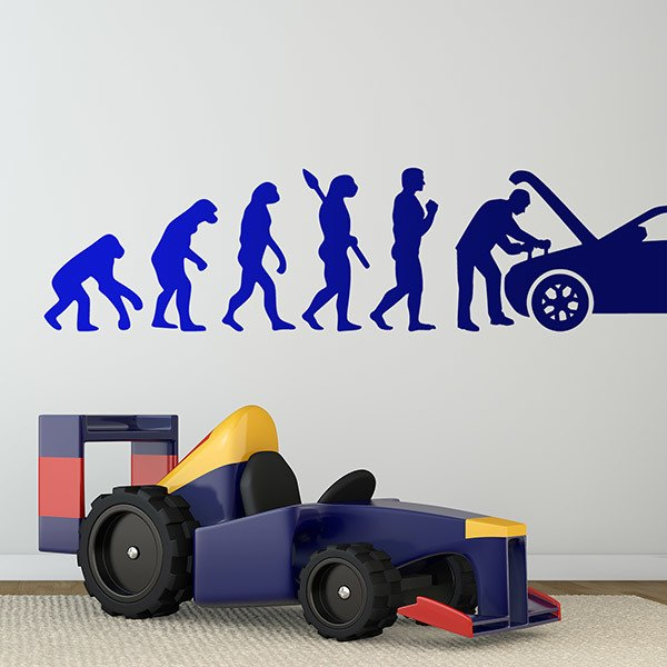 Wall Stickers: Evolution repair