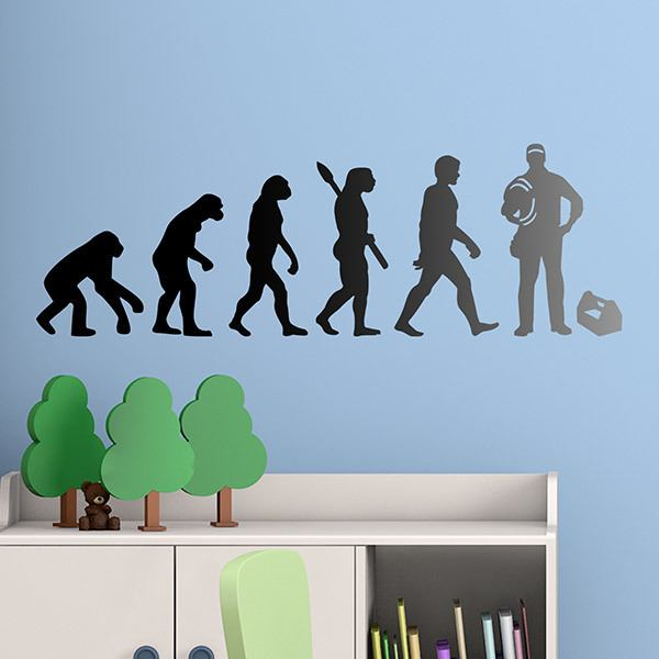 Wall Stickers: Electrician Evolution