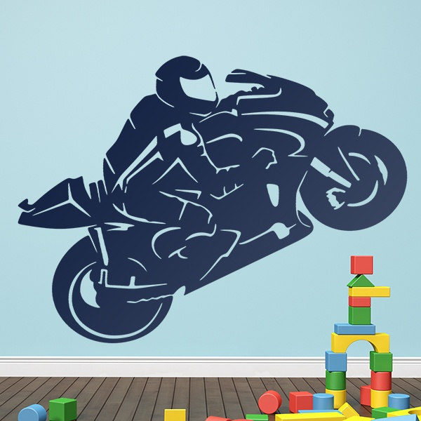 Wall Stickers: MotoGP silhouette