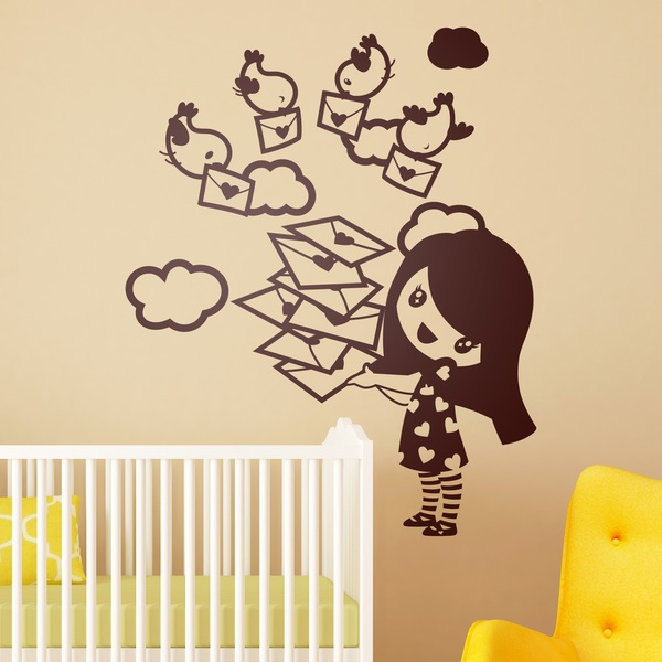 Stickers for Kids: Girl