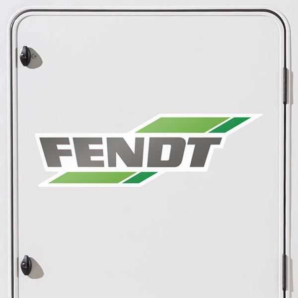 Car & Motorbike Stickers: Fendt logo