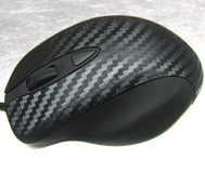 Car & Motorbike Stickers: Carbon fiber vinyl wrap 120cm 5