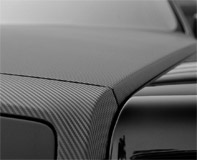 Car & Motorbike Stickers: Carbon fiber vinyl wrap 120cm 9