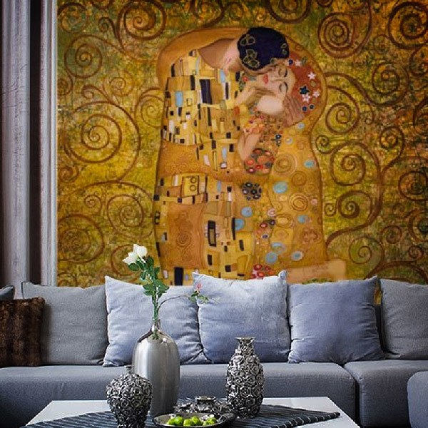 Wall Murals: Klimt kiss