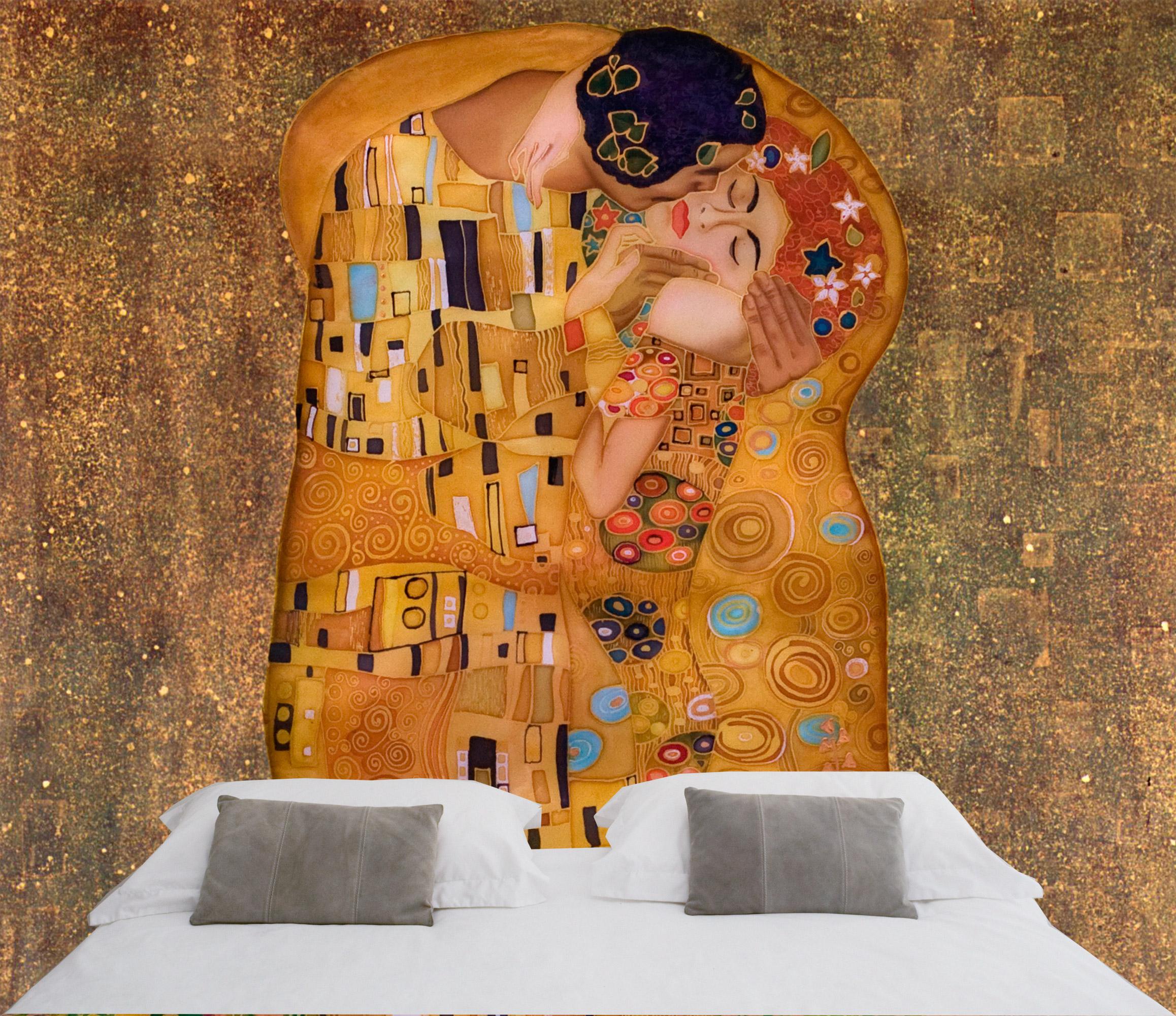 Buy Wall Stickers Online The Kiss 180 180 By Gustav Klimt