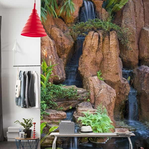 Wall Murals: Waterfall Garden