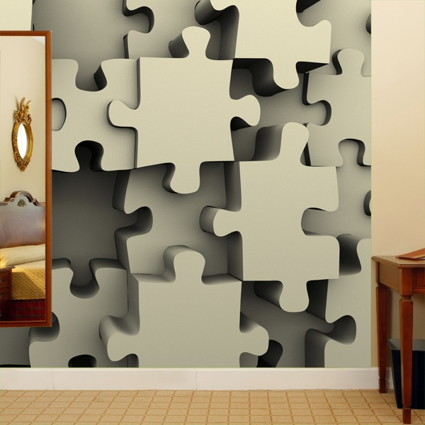Wall Murals: Puzzle