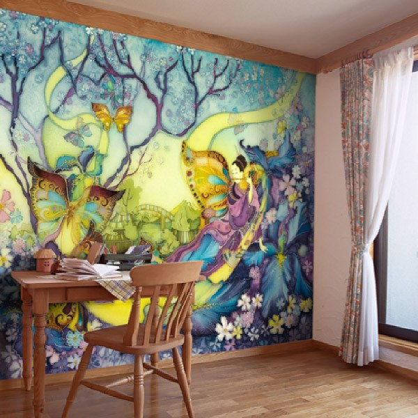 Wall Murals: Japanese fairies