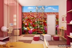 Wall Murals: Field of flowers 2