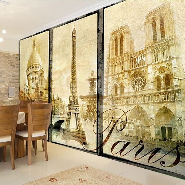 Wall Murals: Classical Paris 0