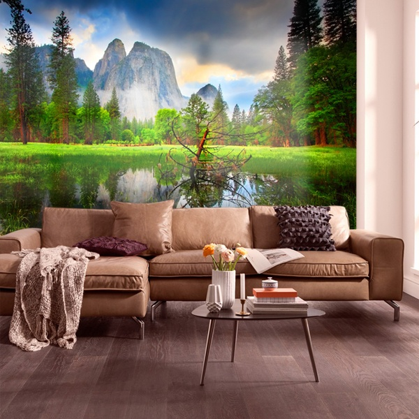 Wall Murals: Lake in the mountains II