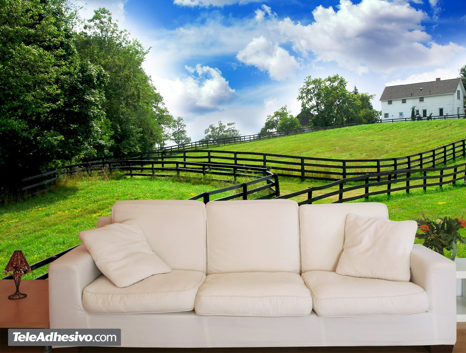 Wall Murals: The farm