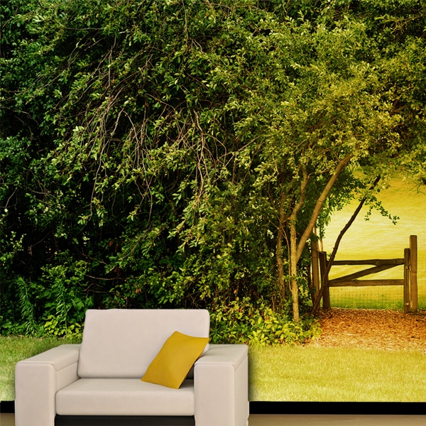 Wall Murals: Natural wall