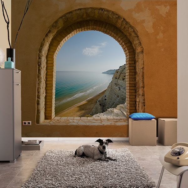 Wall Murals: Window to the Sea