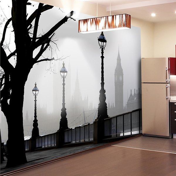 Wall Murals: Mysterious London