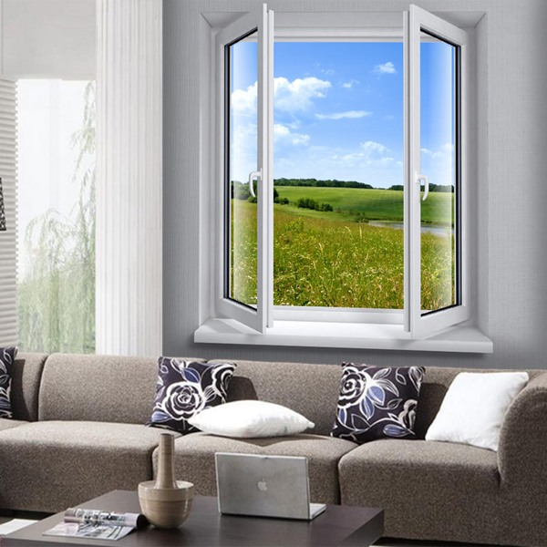 Wall Murals: Window to the meadows