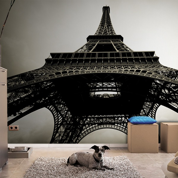Wall Murals: Emblematic Eiffel Tower