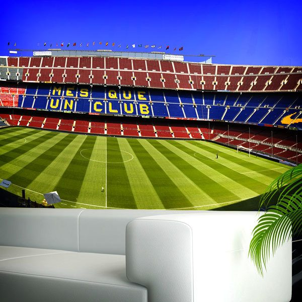 Camp Nou. Wall Murals: ... Part 87