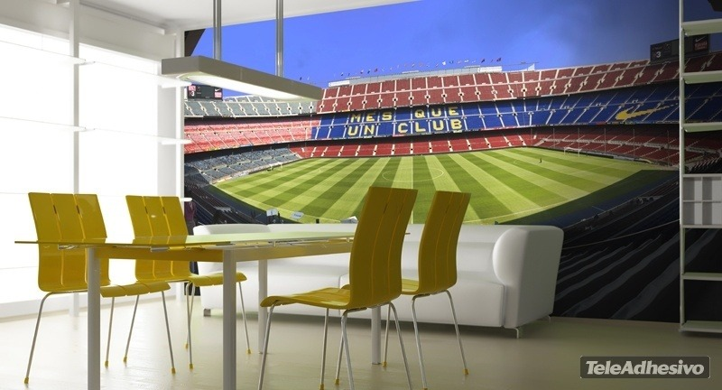 Wall Murals: Camp Nou