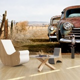 Wall Murals: Old abandoned cars 3