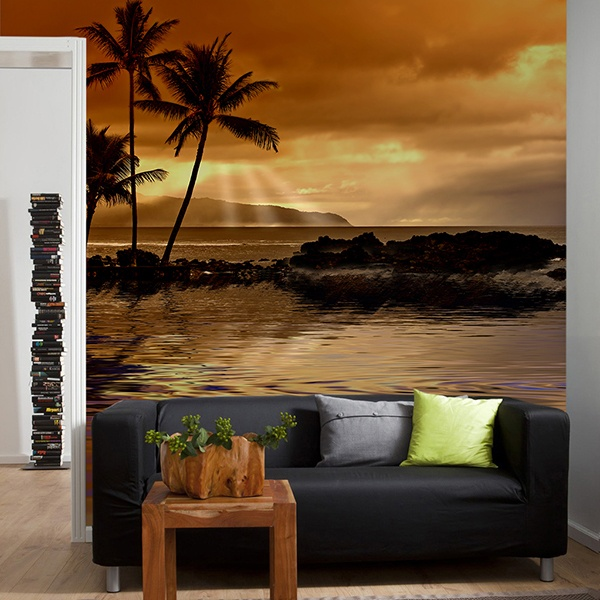 Wall Murals: Caribbean dream