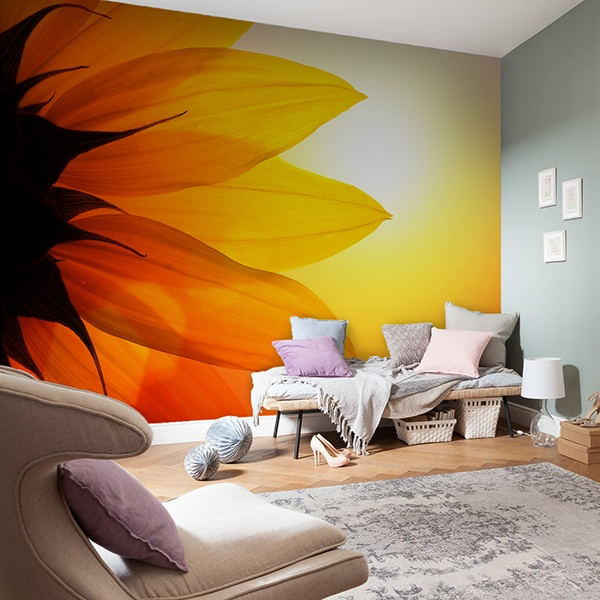 Wall Murals: Sunflower