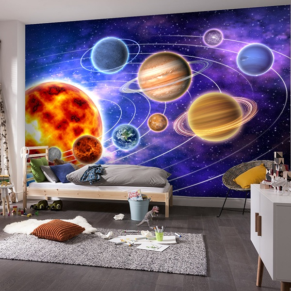 solar system solar system wall mural wall sticker outlet pictures to