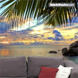 Wall Murals: Sunset beach 5