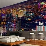 ... Wall Murals: Las Vegas At Night 2 ... Part 92