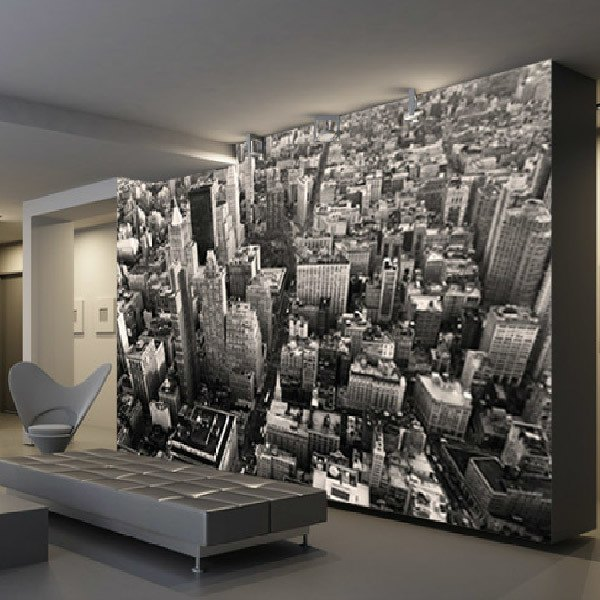 Wall Murals: New York Skyscrapes