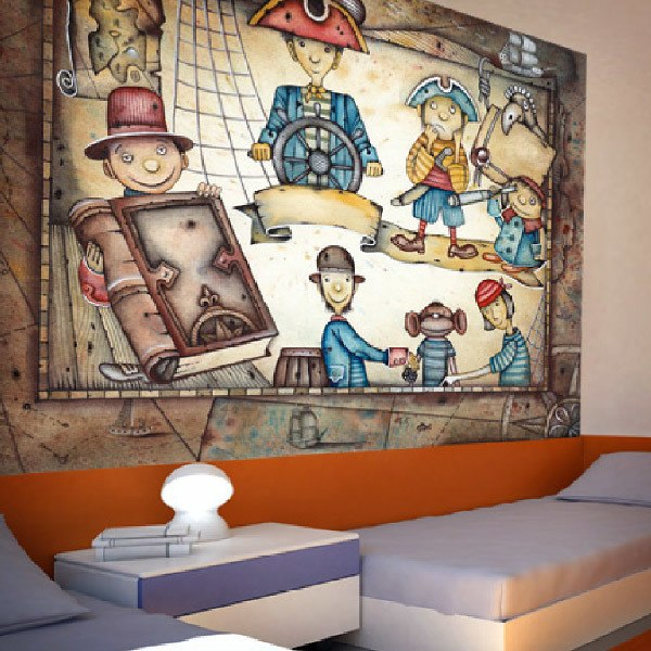 Wall Murals: pirates