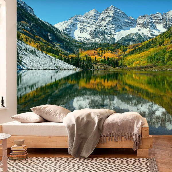 Wall Murals: Maroon Lake, United States