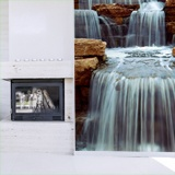 Wall Murals: Waterfall and stones 2